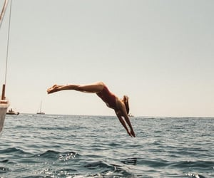summer, aesthetic, and sea image