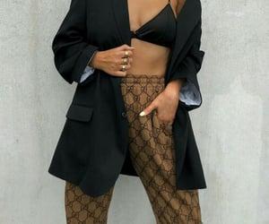 black, clothes, and designer image