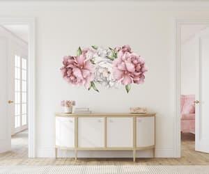 peony wallpaper, peonies wall decal, and peonies wall decor image