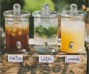 drink, lemonade, and water image