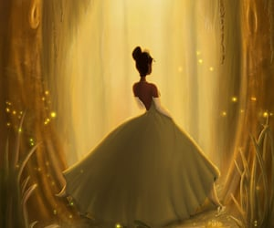 art, disney, and the Princess and the frog image