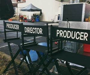 aesthetic, chair, and director image