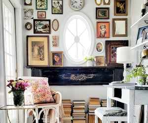 country living, decor, and piano image