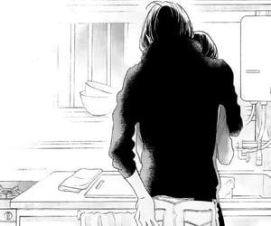 akatsuki, black and white, and boy image