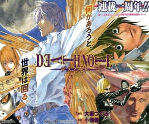 death note and manga image