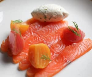 smoked salmon and fromage blanc image