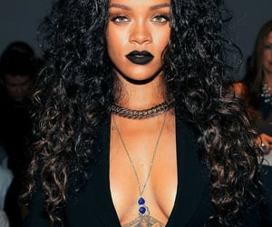 black, curls, and hair image