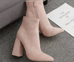 beige, boots, and chaussures image