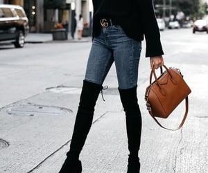 bags, black, and Bleu image