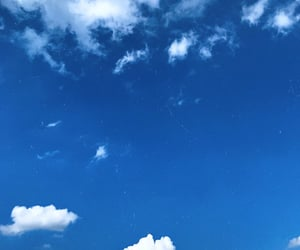 clouds, light blue, and nature image