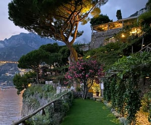 garden, italy, and nature image