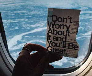 quotes, plane, and travel image