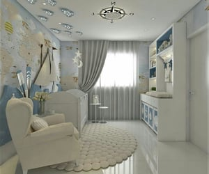 baby, baby room, and decor image