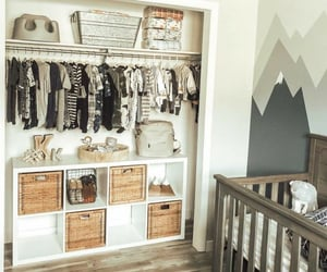 baby room, baby, and home image