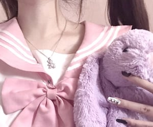 aesthetic, doll, and pink image