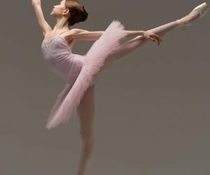 ballerina, posing, and dancer image