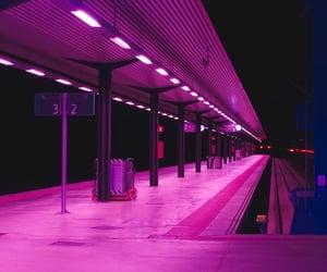 aesthetic, purple, and night image