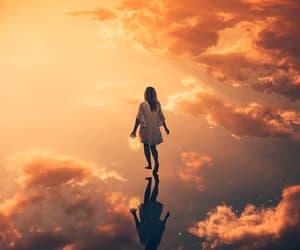 clouds, dreamer, and digital art image