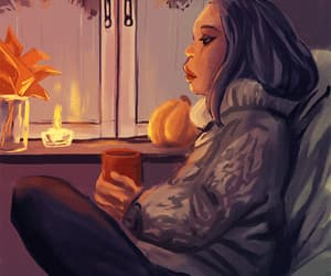 autumn and gif image