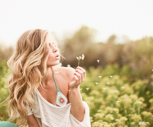 girl, beauty, and summer image