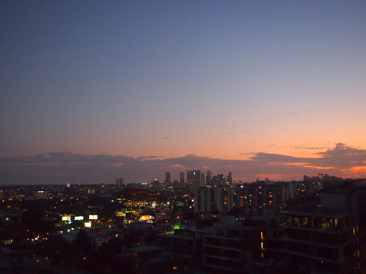 hollywood, sunset, and sunsettower image