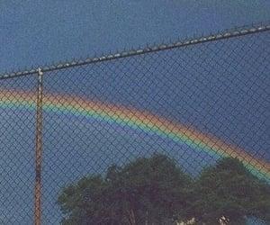 rainbow, sky, and aesthetic image