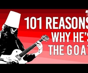 goat, guitar, and gibson les paul image