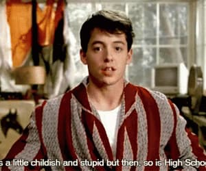 ferris bueller's day off, gif, and matthew broderick image