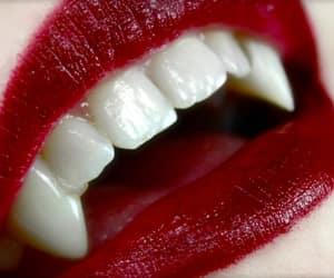 aesthetics, green eyes, and vampire image