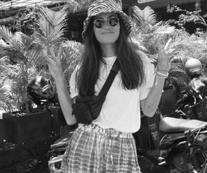 peace and bucket hat image