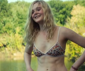 Elle Fanning, all the bright places, and 20th century women image