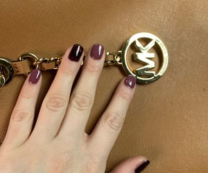 girlie, handbags, and fresh nails image