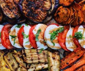 basil, carrot, and eggplant image