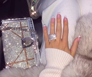 bags, fashion, and bling bling image