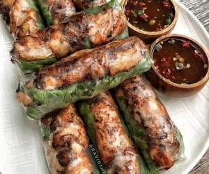 food, sauce, and shrimp image