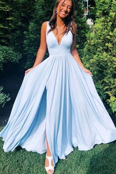 dresses, evening gown, and prom dresses image