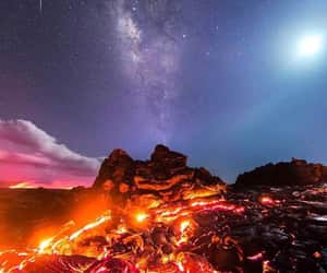 lava, nature, and stars image