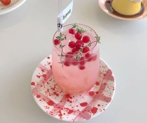 berry, drink, and pink image