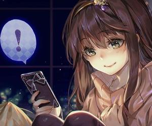 mystic messenger, Mc, and anime image
