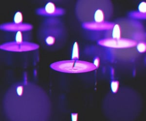candles, light, and Darkness image