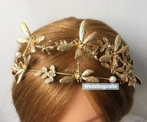 accessories, wedding, and wedding hair image