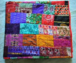 etsy, patchwork quilt, and handmade blanket image