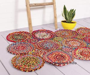 etsy, office rug, and dining room rug image