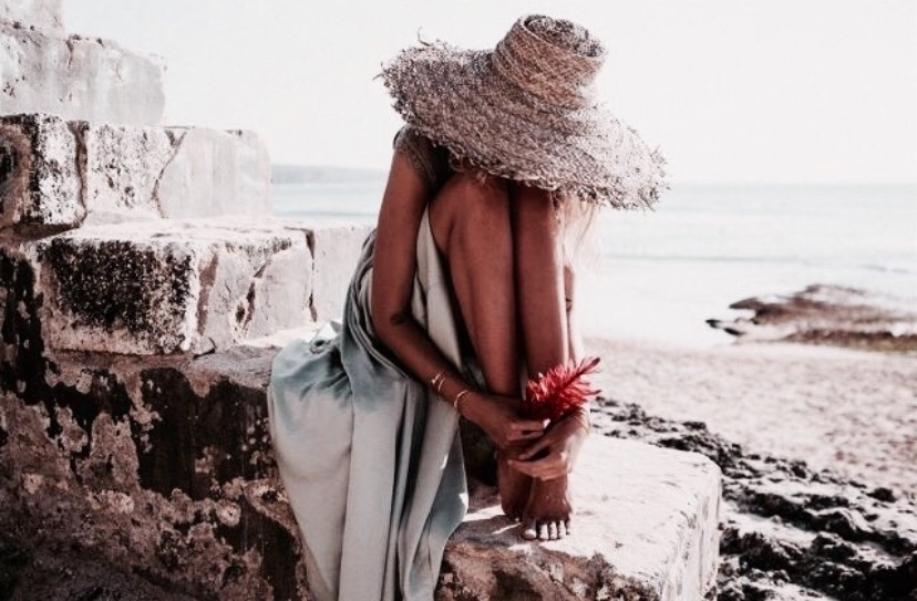 summer, outfit, and sea image