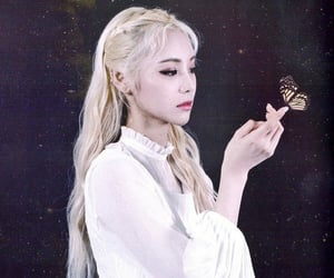 jinsoul, loona, and butterfly image