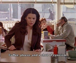 drama, rory gilmore, and 00's aesthetic image