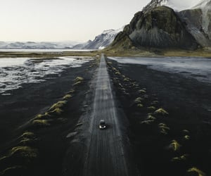 iceland, mountains, and photography image