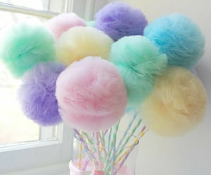 aesthetic, soft colors, and decorations image