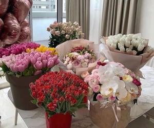 amour, bouquet, and mauve image