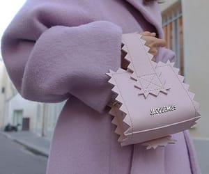 fashion, purple, and bag image